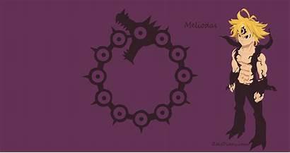 Seven Demons Meliodas Demon Deadly Sins Form