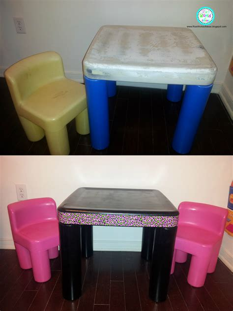 little tikes desk and chair ria 39 s world of ideas little tikes table and chairs redo