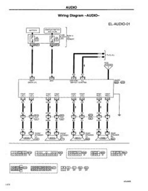 repair guides electrical system 1999 audio and