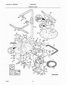 Electrolux Ewdw6505gs0 Parts List And Diagram