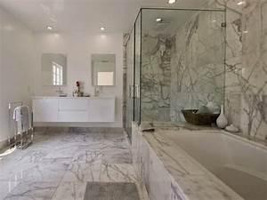 Marbre Salle De Bain : decor mural salle de bain 5 carrelage salle de bain ~ Dailycaller-alerts.com Idées de Décoration