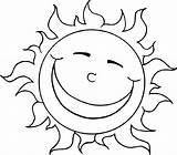 Sun Coloring Printable Bestcoloringpagesforkids Via sketch template