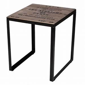 Table Bois Pas Cher : tables le blog de deco design pas ~ Dailycaller-alerts.com Idées de Décoration
