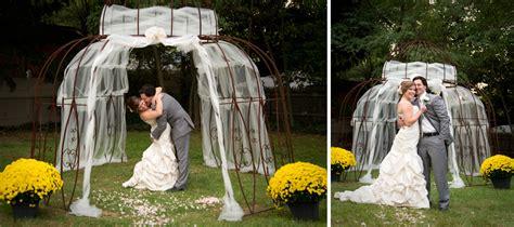 Wedding Accessories For Christian Bride : Laura & Christian's Home Wedding Mi