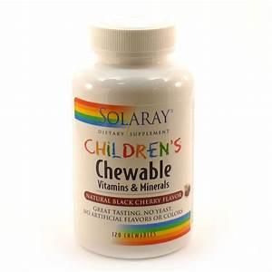 Children's Chewable Vitamins & Minerals Blk Cherry By ...