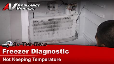 whirlpool freezer diagnostic  keeping temperature
