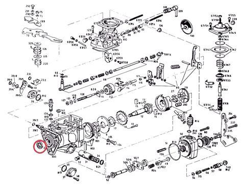 bosch driveshaft seal mm diesel injection pumps