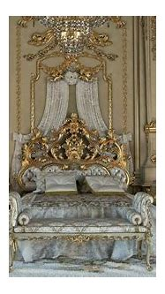 » Royal Gold Bedroom Set Carved With King Size BedTop and ...