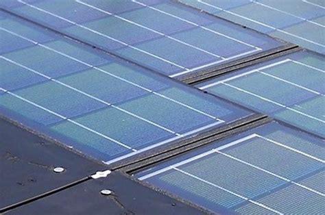 solar panels look like ordinary roof shingles