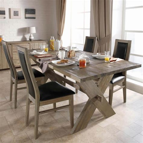Black And White Kitchen Floor Ideas - rustic dining table power the kitchen to an place fresh design pedia