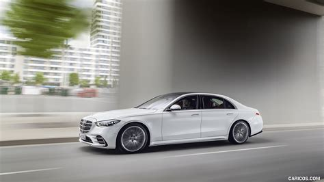 Reserve yours today learn more. 2021 Mercedes-Benz S-Class (Color: Diamond White) - Side | HD Wallpaper #18
