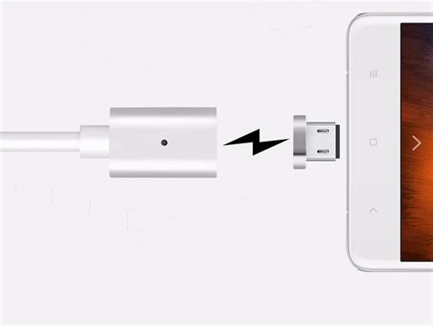 revolucionarni magnetni lightning polnilni kabel za iphone ali android telefon megapanda