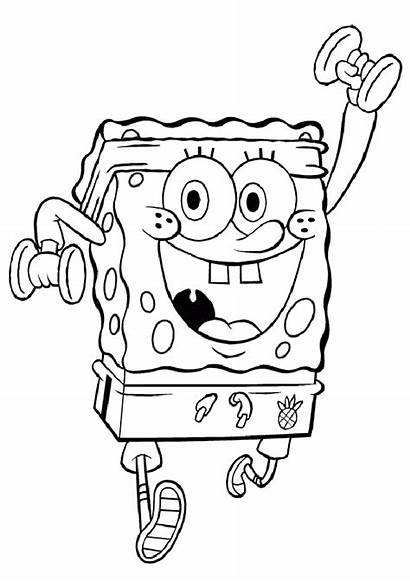 Spongebob Coloring Pages Via Activity