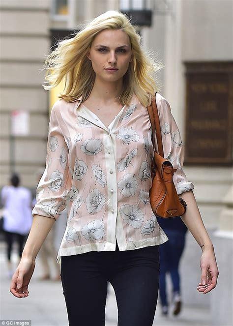 transgender model andreja pejic    york stroll
