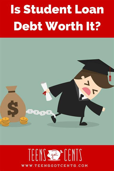Is It Worth It To Pay For A Professional Resume by Is Student Loan Debt Worth It Teensgotcents