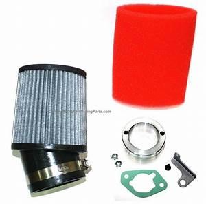 Honda Gx340 Gx390 Clone Engine Carb Air Filter Adapter Kit