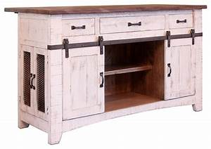 Crafters and Weavers - Greenview Kitchen Island - View in