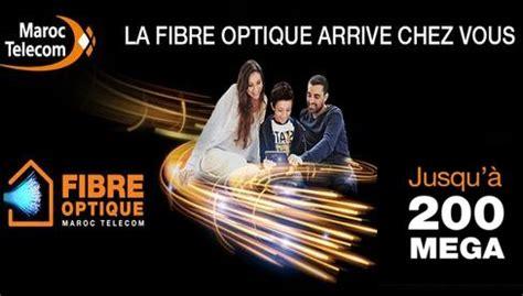 refonte de loffre fibre optique de maroc telecom tic maroc
