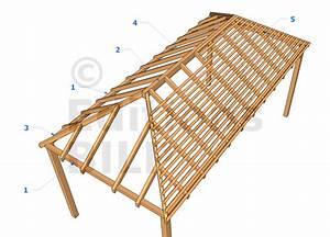 Toit En Bois : charpente bois toit 4 pans ~ Melissatoandfro.com Idées de Décoration