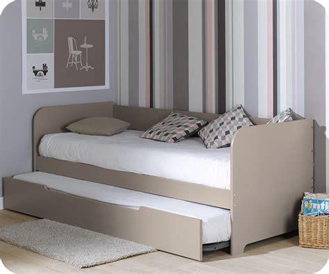 Ses Sofas by Pack Lit Gigogne Bali Lin 80x200 Cm Avec 2 Matelas
