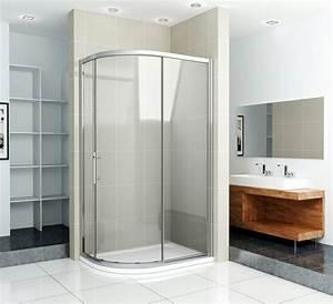 porte de douche coulissante battante et fixe en 95 idees With porte de douche coulissante avec mobilier salle de bain hotellerie