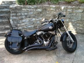 Harley Softail Slim Saddlebags