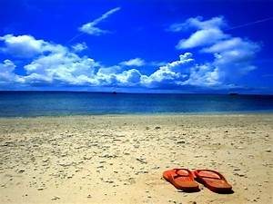 Beach Flip Flops Background Pictures to Pin on Pinterest ...