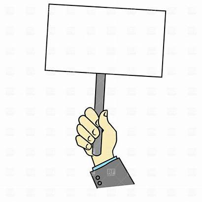 Placard Blank Clipart Eps 1487 Chainimage Timetable
