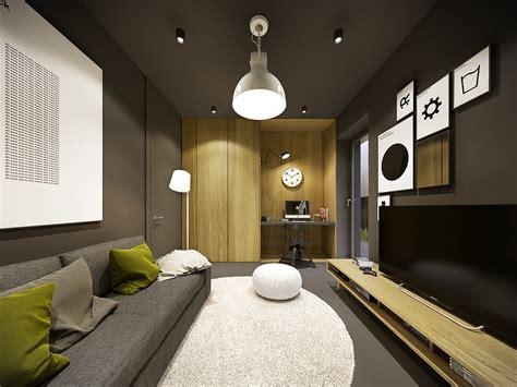 gorgeous contemporary home  autumnal hued decor