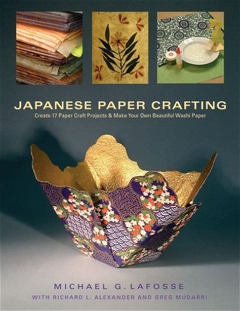 japanese paper crafting create  paper craft projects    beautiful washi paper