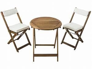 Table Et Chaise Camping : ensemble table 2 chaises pliantes coussins gabby vente de ensemble table et chaise conforama ~ Nature-et-papiers.com Idées de Décoration