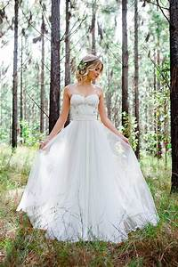 romantic woodland wedding inspiration the wedding playbook With woodland fairy wedding dress