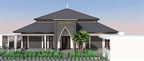 konsep desain masjid modern minimalis  jakarta