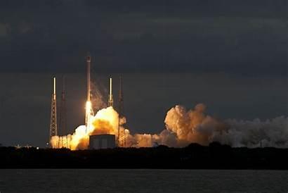 Spacex Rocket Launch Guam Missile Falcon Korea