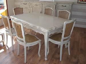 chaises de salle a manger louis xv With salle À manger louis xv pour deco cuisine