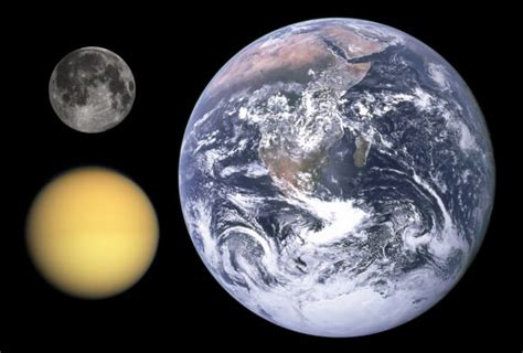Titan S by Saturn S Moon Titan Universe Today
