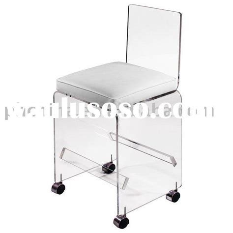 Acrylic Vanity Chair With Wheels by Stool Wheels Stool Wheels Manufacturers In Lulusoso