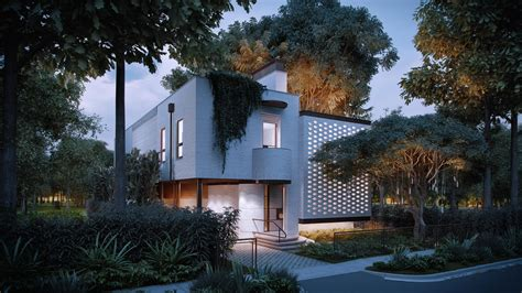 3d Exterior Renders For A Spectacular House Design