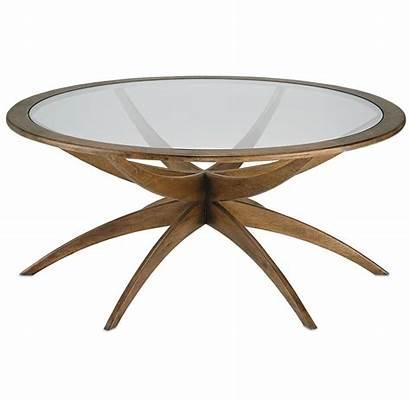 Coffee Walnut Tables Round Century Mid Inch