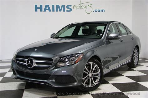 Quick review of the mercedes benz c300. 2017 Used Mercedes-Benz C-Class C 300 Sedan at Haims Motors Hollywood Serving Fort Lauderdale ...