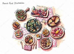 Französisches Essen Liste : franz sisches essen abbildung stockfoto 54717377 ~ Orissabook.com Haus und Dekorationen