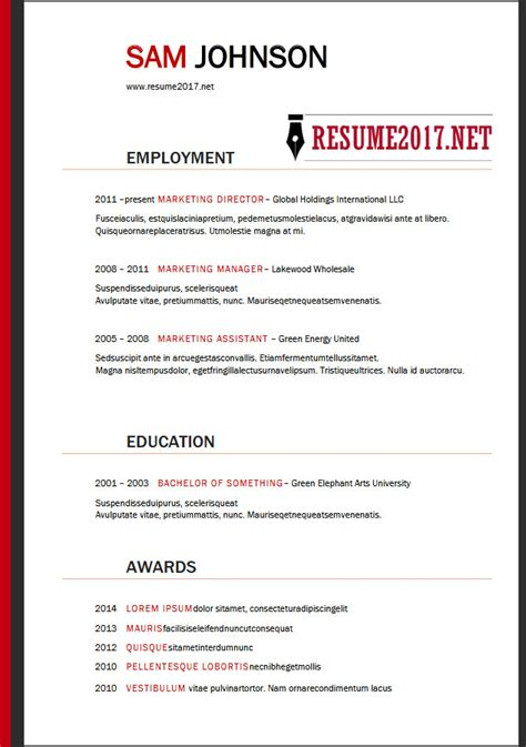 Best Executive Resume Examples 2018 For Ideas It Hr S Solagenic