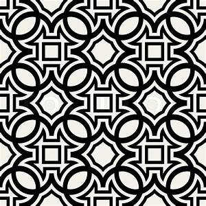Abstract, geometric background, modern seamless pattern