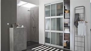 Portes De Placard Coulissantes Sur Mesure : placards pour la salle de bain ~ Melissatoandfro.com Idées de Décoration
