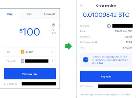 Interestingly i got the btcs but there's no transaction of block reference as expected. Buying Bitcoin on Coinbase