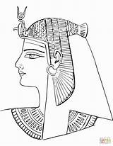 Egyptian Egypt Coloring Ancient Pages Nefertiti Drawing Queen Tomb Death Sheet Mask Rameses Iii Printable Pharaoh Pa Paper Horus sketch template