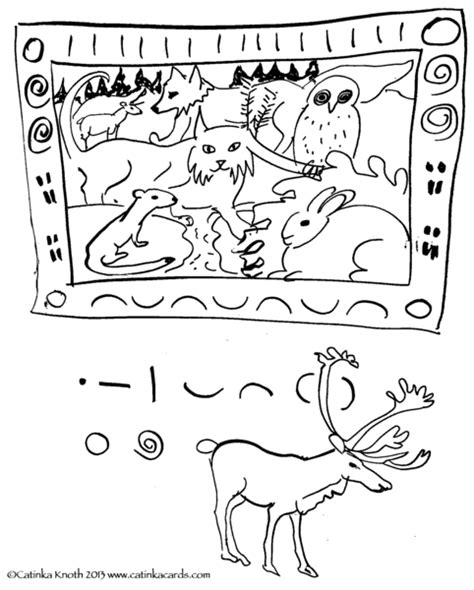 winter animals hibernation coloring pages sketch coloring page
