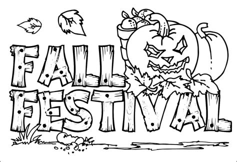 fall color pages fall coloring pages coloringsuite