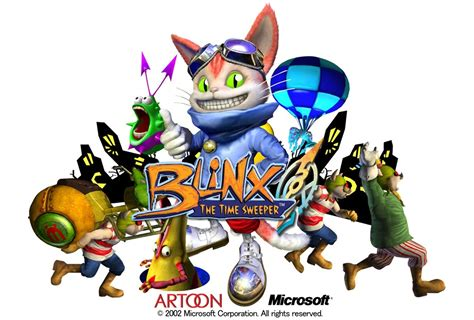 microsoft  abandoned blinx  cat blinx  time sweeper gamereactor