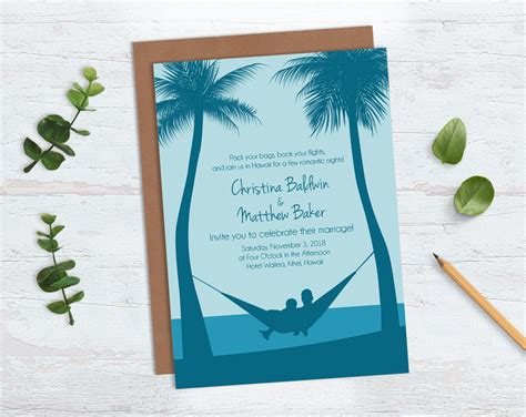 Guidelines For Destination Wedding Invitation Wording